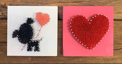 Valentine Mini String Art Kits!