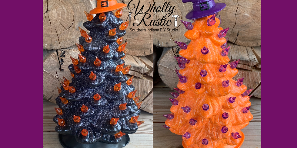 SOLD OUT! Halloween Ceramic Trees!