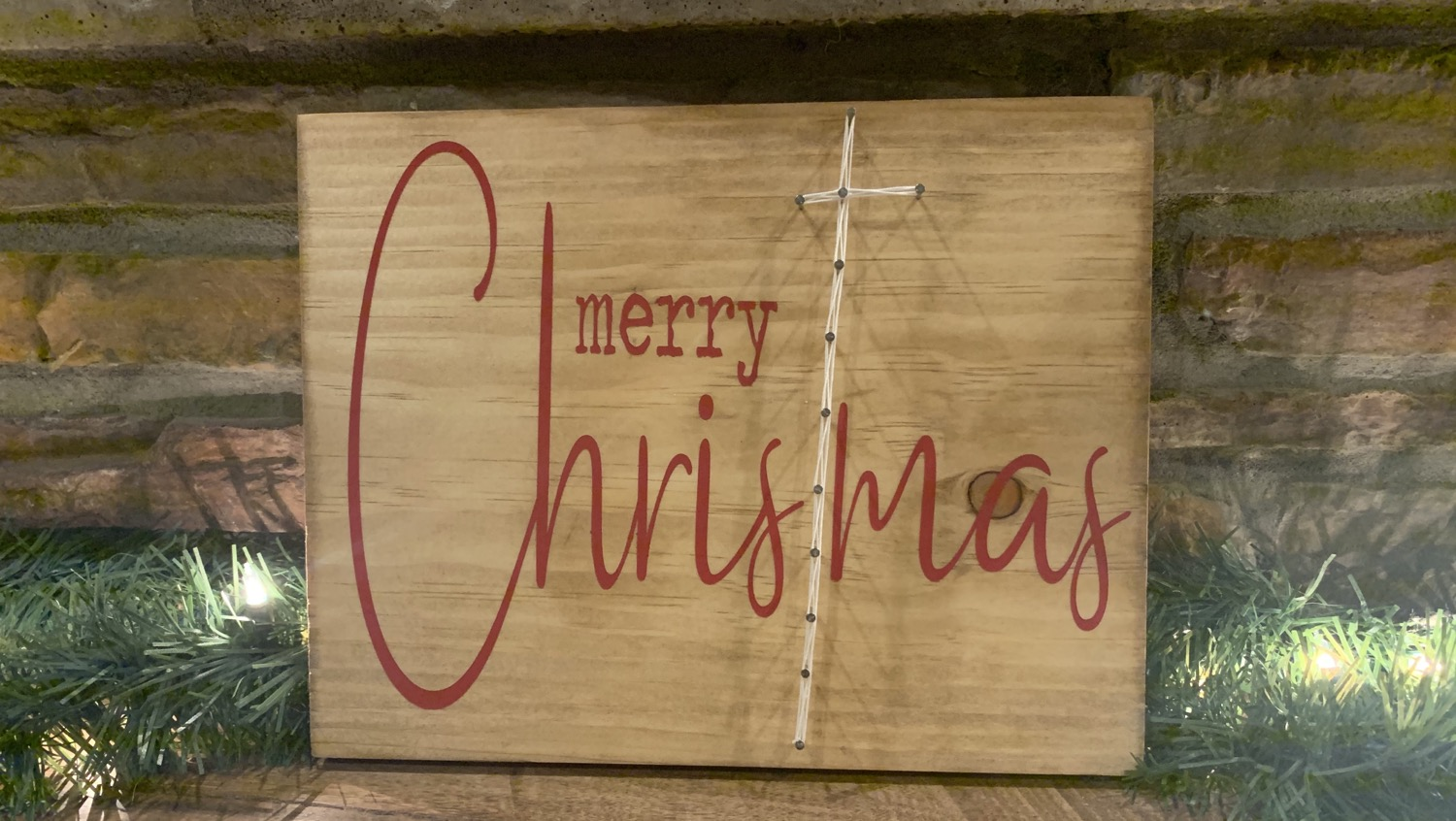 Merry Christmas Paint & String!