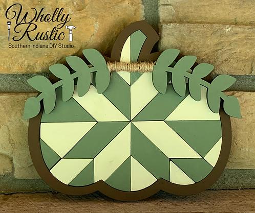 Pumpkin Barn Quilt Kit!