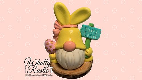 Bunny Gnome Ceramic Kit!