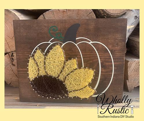 Sunflower Pumpkin String Kit!