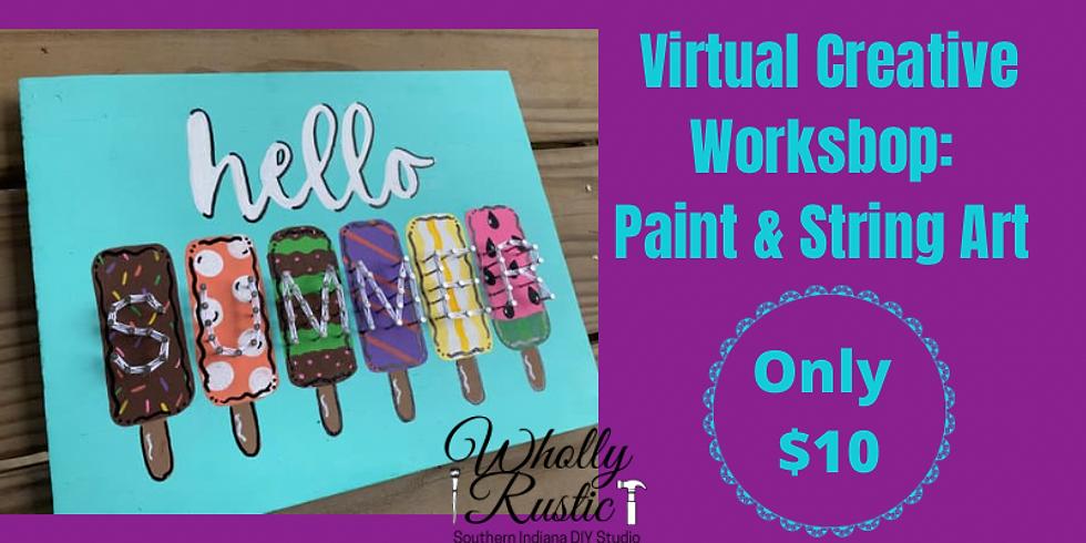 Summer Popsicle Online Creative Workshop