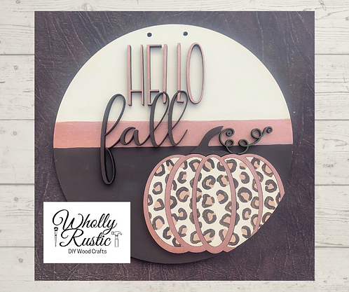 Hello Fall Door Hanger Kit!