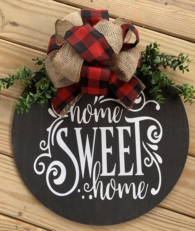 Home Sweet Home Door Hanger!
