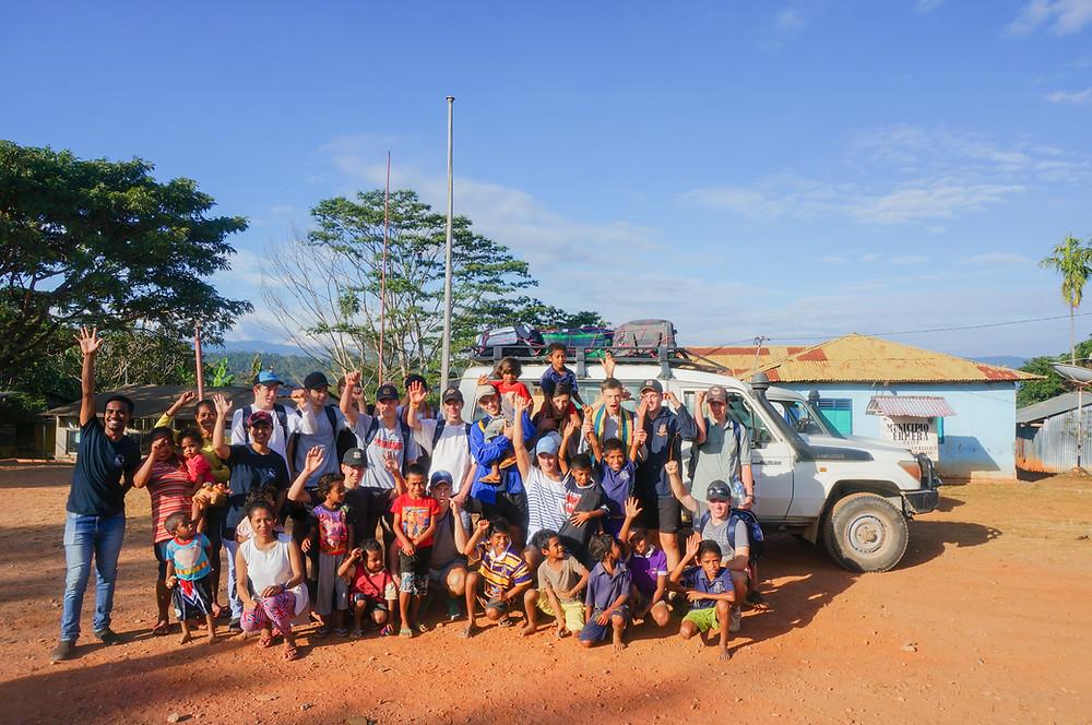 east timor school group, east timor immersion, east timor study tour