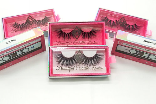 NEW 25mm Long Mink Lashes