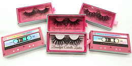 25mm Mink Long Luxurious Lashes