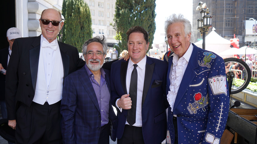 Getting Ready to Honor Tony Bennett with San Francisco icons Aaron Peskin, Liam Mayclem, and the fabulous Bud E. Luv