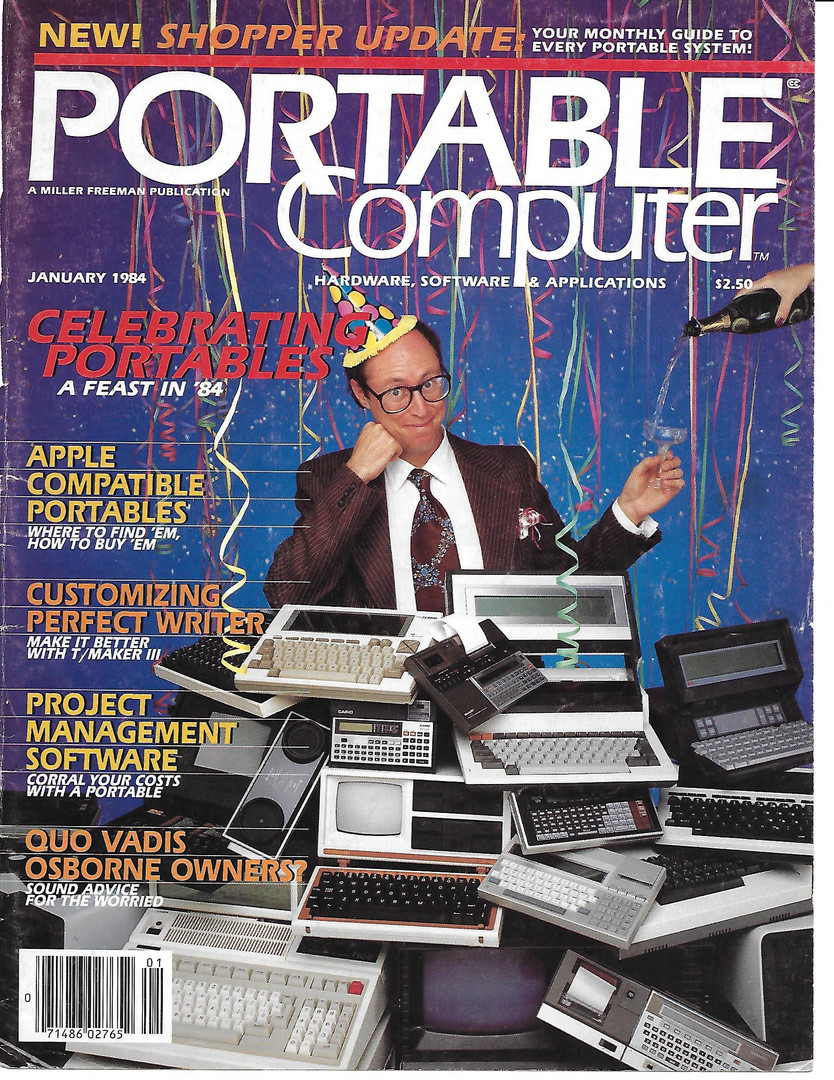 Rocking The Cover of an Early Computer Magazine