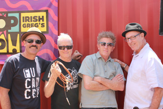 Dog Days of Summer... with Adam Rossi (Luce), Tommy Dunbar (Rubinoos), and My first bandleader Little Roger
