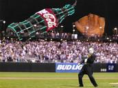 Rocking the Anthem... Go Giants!