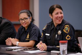 Detective Joy is an ambassador for positive law enforcement -community relationships.