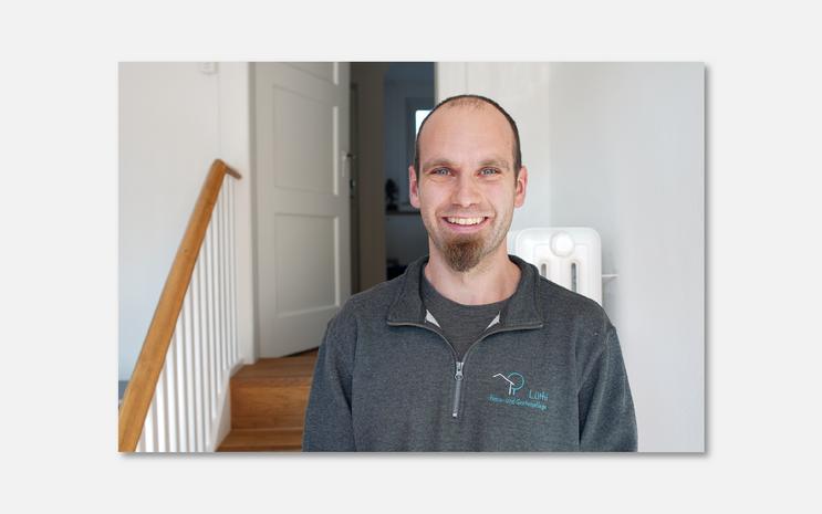 Andreas Lüthi, Leiter Hauswartsdienst