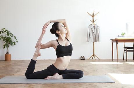 Йога на дому