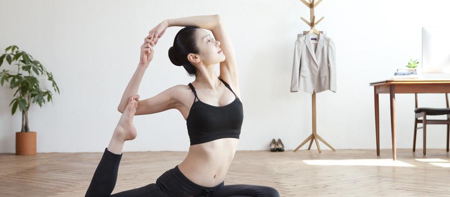 Stretch and balance workouts