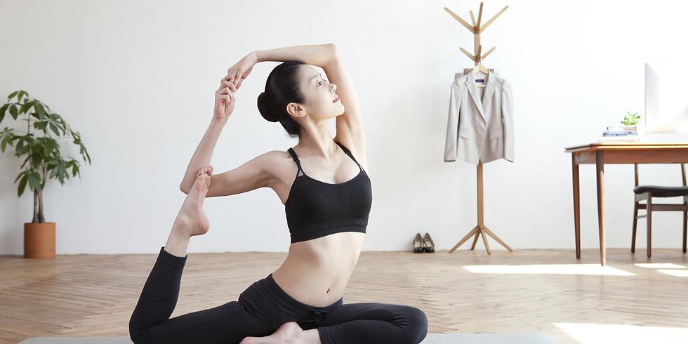 Yoga LIVE on Facebook @11am 5/17