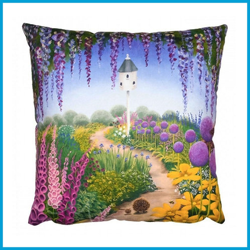 Lucy Pittaway Cushion Strolling Home