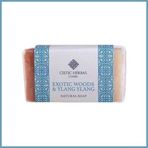 Handmade Natural Soap Exotic Woods & Ylang Ylang