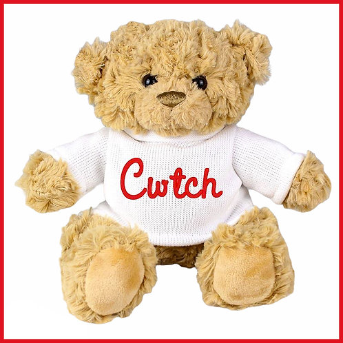 Welsh Teddy Bear Cwtch