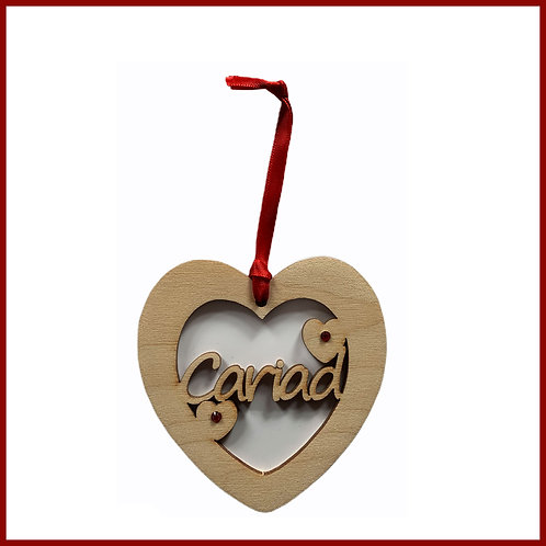 Welsh Fretwork Heart Cariad