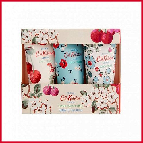 Cath Kidston Hand Cream Trio Cherry Sprig