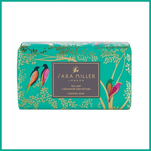 Sara Miller Fig Leaf, Cardamom & Vetiver Scented Soap 240g
