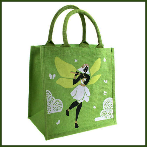 Jute Shopping Bag Fairy