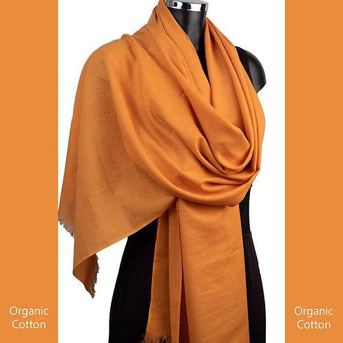 Organic Cotton Pashmina Gold