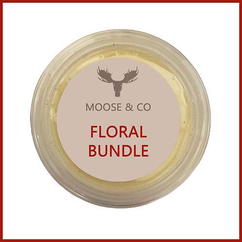 Moose & Co Soy Wax Melts Floral Bundle
