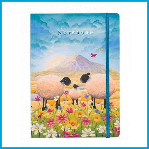 Lucy Pittaway A5 Notebook Butterflies & Babies