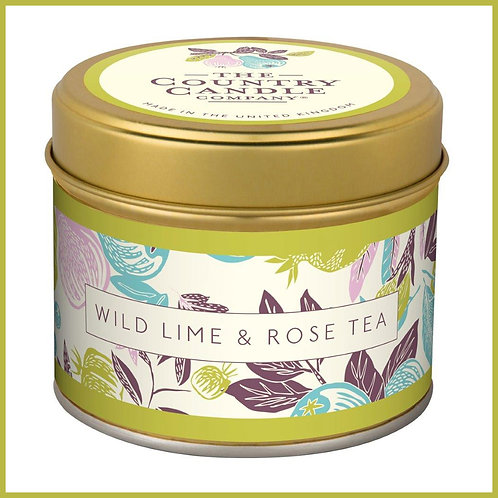 Fragrant Orchard Candle Wild Lime & Rose Tea