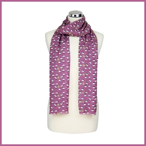 Sheep Range Scarf Rose Pink