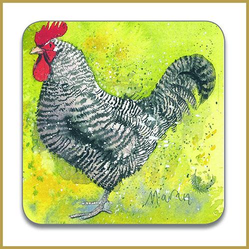 Alex Clark Coaster C82 Maran Chicken