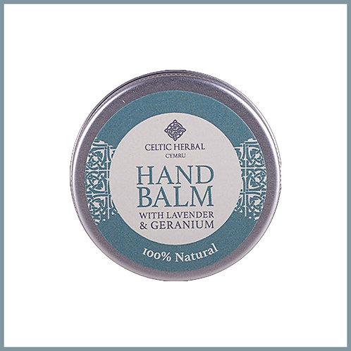 Natural Hand Balm With Lavender & Geranium