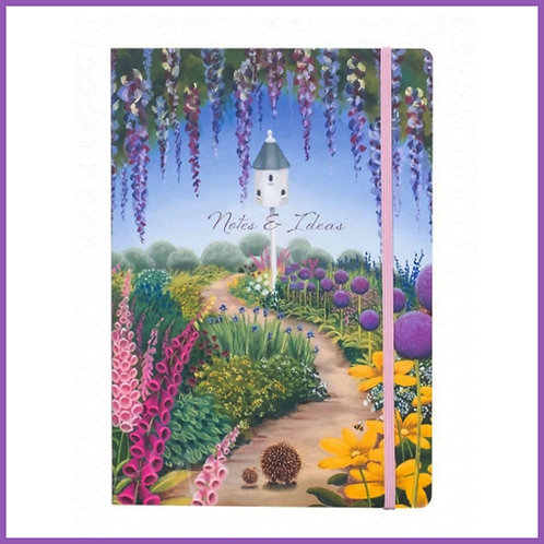 Lucy Pittaway A5 Notebook Strolling Home