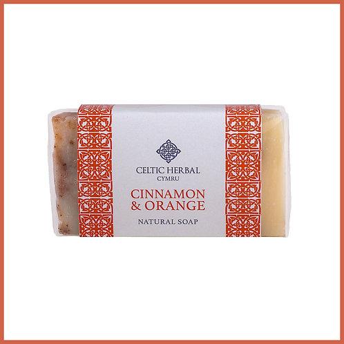 Handmade Natural Soap Cinnamon & Orange