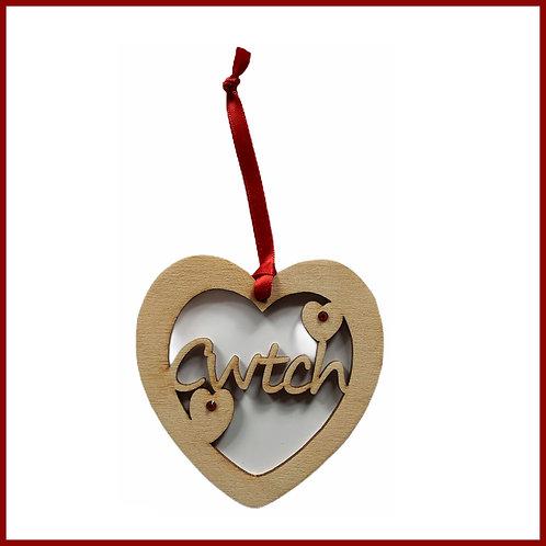 Welsh Fretwork Heart Cwtch