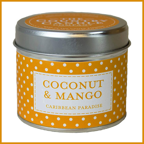 Polkadot Candle Coconut & Mango