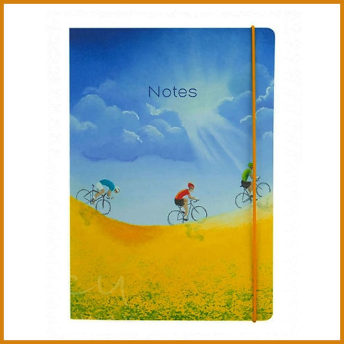 Lucy Pittaway A5 Notebook Rewards Cycling