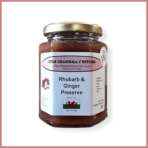 Little Grandma's Preserve Rhubarb & Ginger