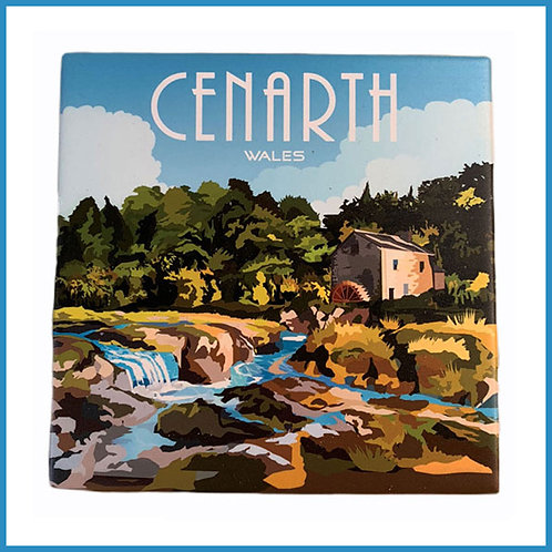 Cenarth Retro Design Ceramic Teapot Stand