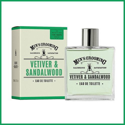 Vetiver & Sandlewood Eau De Toilette 100ml