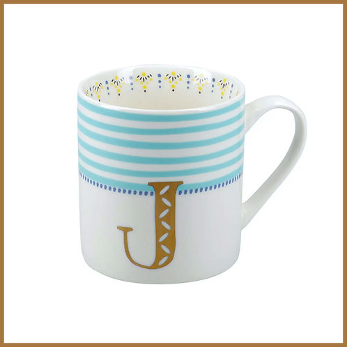 Alphabet Mug J