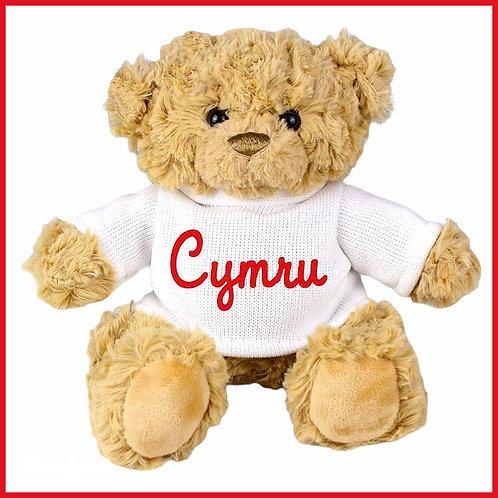 Welsh Teddy Bear Cymru