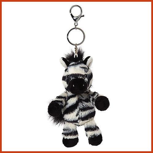 Otis the Zebra Keyring
