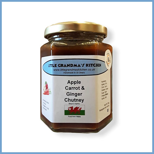 Little Grandma's Chutney Apple, Carrot & Ginger