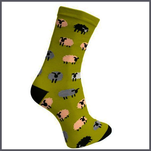 Bamboo Socks Sheep