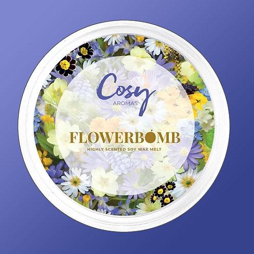 Cosy Aroma Soy Wax Melt Pod Flowerbomb