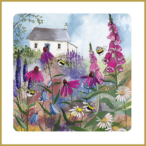 Alex Clark Coaster C118 Bee Garden